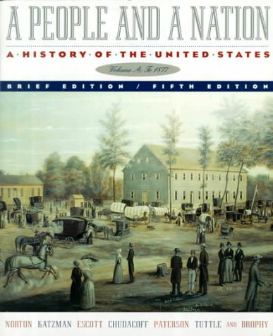 9780395921326: A People and a Nation: Brief Edition of 5r.e., v.A: History of the United States