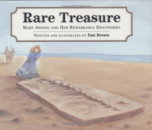 9780395922866: Rare Treasure: Mary Anning and Her Remarkable Discoveries