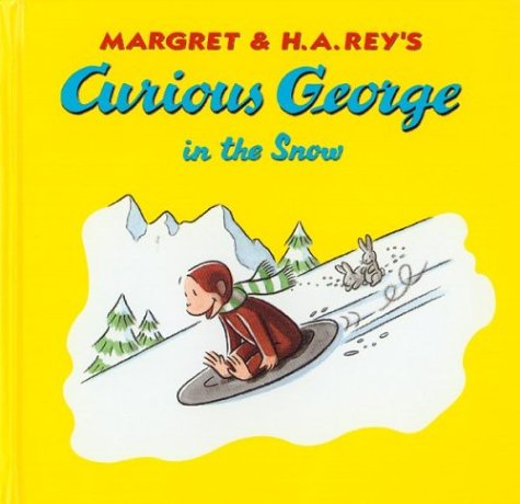 9780395923368: Curious George in the Snow