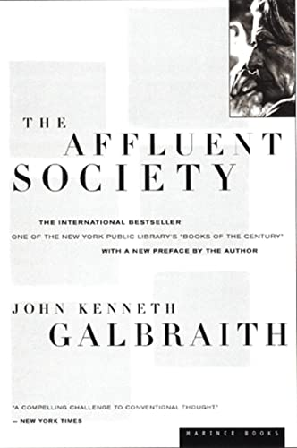 9780395925003: The Affluent Society
