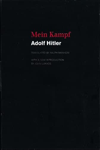 9780395925034: Mein Kampf
