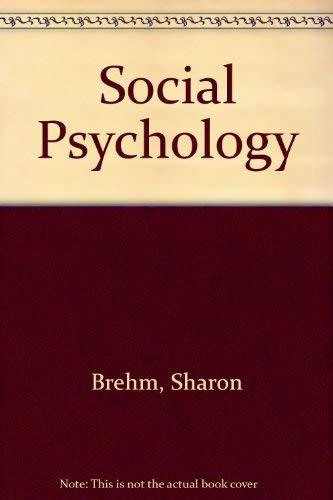 9780395931561: Social Psychology