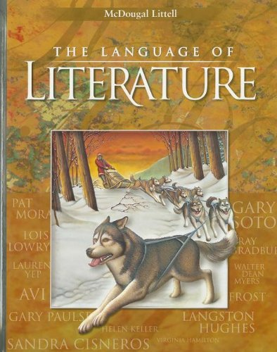 9780395931691: McDougal Littell Language of Literature: Student Edition Grade 6 2001