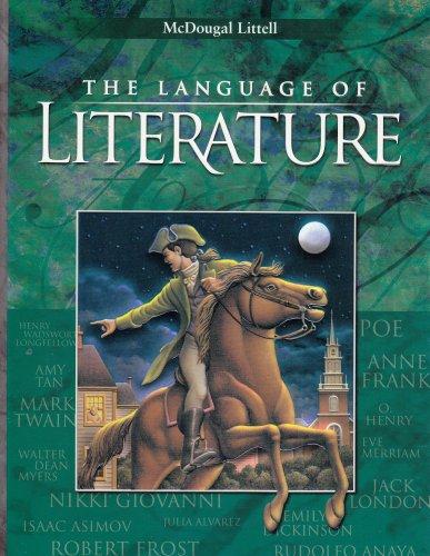 9780395931714: McDougal Littell Language of Literature: Student Edition Grade 8 2001