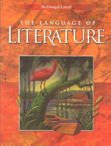 9780395931721: The Language of Literature Grade 9