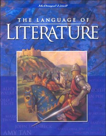 9780395931806: McDougal Littell Language of Literature: Student Edition Grade 10 2000