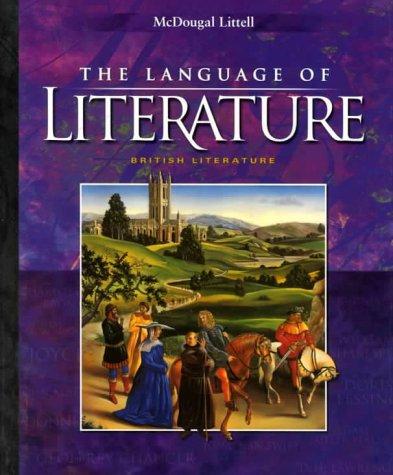 9780395931820: McDougal Littell Language of Literature: Student Edition Grade 12 2000