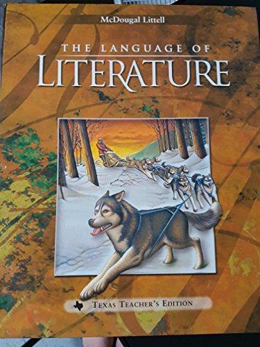 The Language of Literature, Teacher's Edition, Grade 6: Applebee