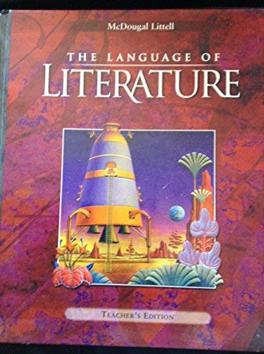 9780395931844: The Language of Literature Teacher's Edition Grade 7
