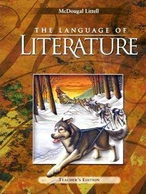 9780395931851: The Language of Literature Teacher's Edition