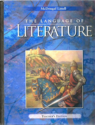 9780395931875: The Language of Literature [Teacher's Edition] Grade 10