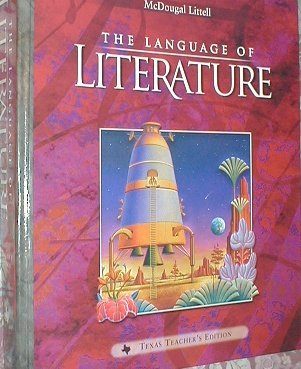 9780395931929: The Language of Literature Texas Teacher's Editon Grade 7