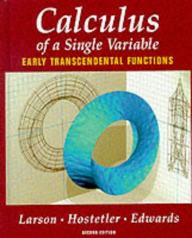 9780395933213: Calculus: Early Transcendental Functions