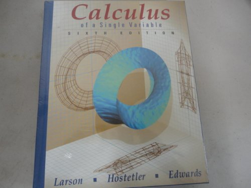 9780395933848: Calculus Single Variable and Interactive CD-ROM Preface to Fifteen Sixth Edition