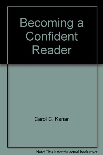 9780395933992: Becoming a Confident Reader: Instructor's Annotated Edition