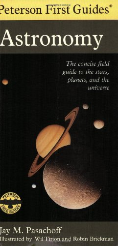 9780395935422: Peterson First Guide to Astronomy