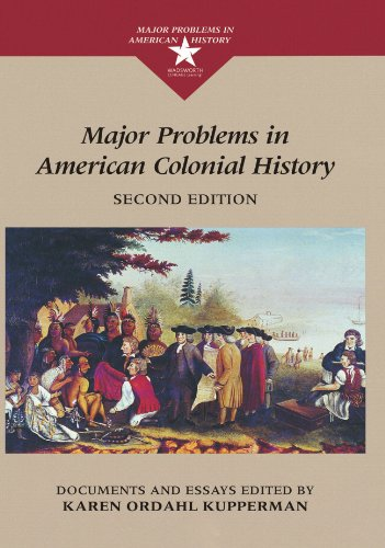 9780395936764: Major Problems in American Colonial History: Documents and Essays (Major Problems in American History Series)
