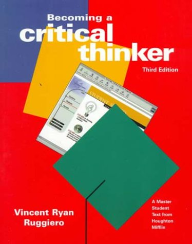 9780395936801: Becoming a Critical Thinker