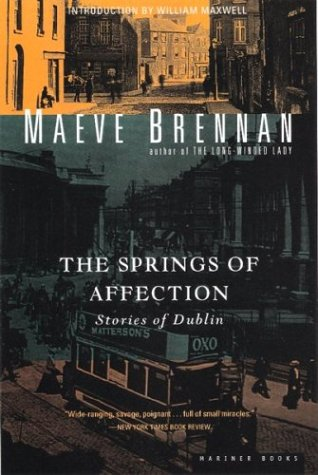 9780395937594: The Springs of Affection: Stories of Dublin