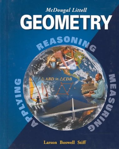 9780395937778: McDougal Littell High School Math: Student Edition Geometry 2001