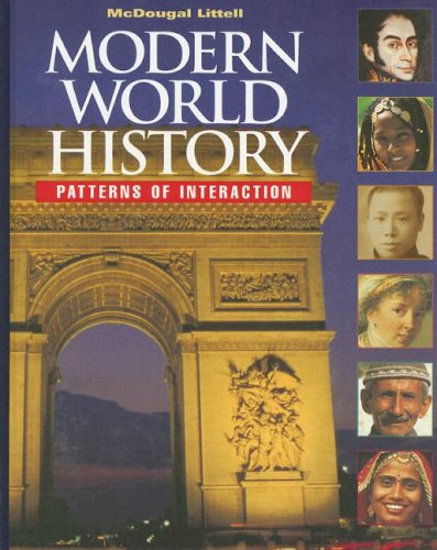 9780395938294: Modern World History: Patterns of Interaction