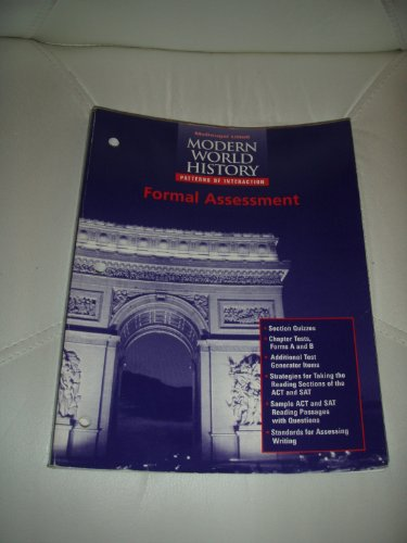 9780395938393: Modern World History Patterns of Interaction Formal Assessment