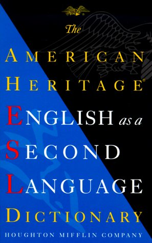 9780395939451: The American Heritage English as a Second Language Dictionary