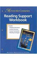 9780395947012: Across the Centuries; Reading Support Workbook Level 7 (Houghton Mifflin Social Studies)