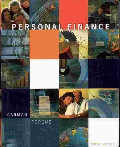 9780395950487: Personal Finance