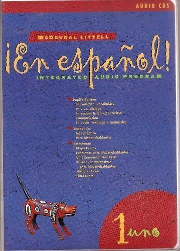 9780395953471: En espanol! Integrated Audio Progam (1 uno)