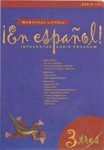9780395953495: McDougal En espanol Level 3 Audio Cd Set (20 cds)