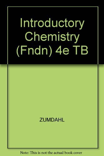 9780395955543: Introductory Chemistry (Fndn) 4e TB