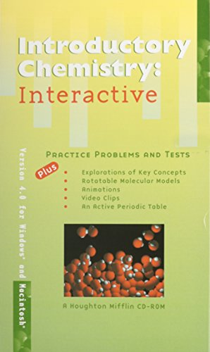 9780395955598: Introductory Chemistry: Interactive