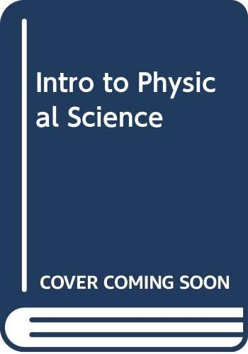 9780395955710: Introduction To Physical Science Laboratory Manual, Ninth Edition