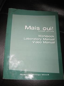 9780395956021: Mais Oui Workbook/laboratory Manual/video Manual, Second Edition