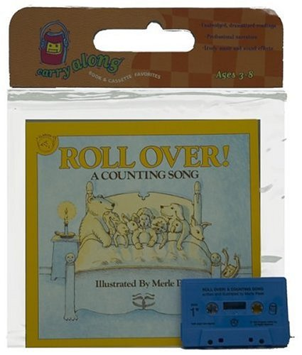 9780395957547: Roll Over! Book & Cassette: A Counting Song