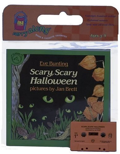 9780395957578: Scary, Scary Halloween Book & Cassette