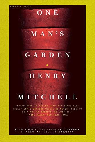 9780395957691: One Man's Garden