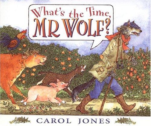 What's the Time, Mr. Wolf?: Jones, Carol