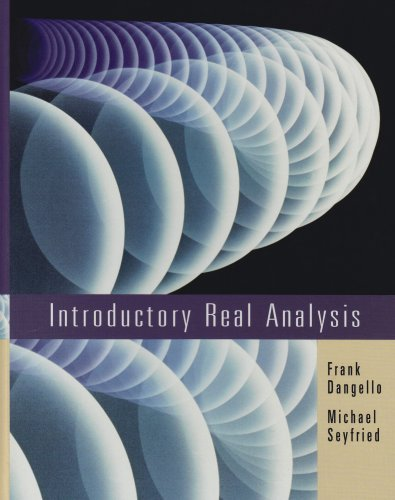 9780395959336: Introductory Real Analysis
