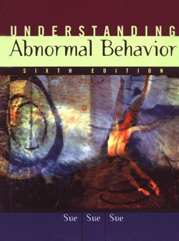 9780395959435: Abnormal Behavior Sixth Edition