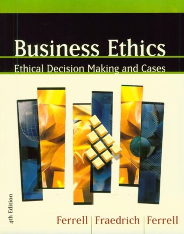 9780395959534: Business Ethics, Fourth Edition