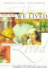 The Way We Lived (Essays and Documents: Reimers, David M.;