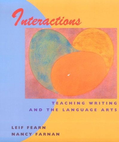 9780395959657: Interactions: Teaching Writing and the Language Arts