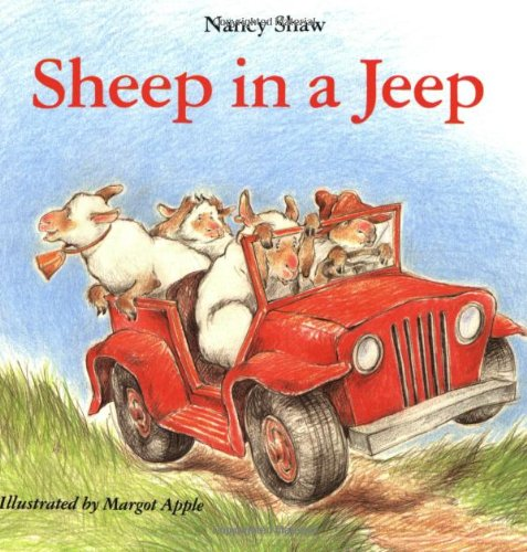9780395959909: Sheep in a Jeep Book & Cassette (Carry Along Book & Cassette Favorites)