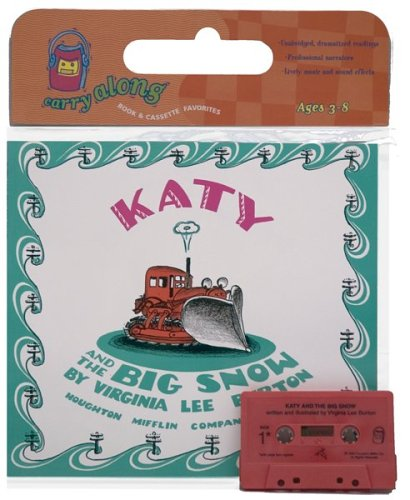 Katy and the Big Snow Book & Cassette (Book & Cassette Favorites)