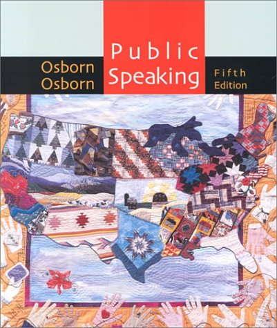 9780395960080: Public Speaking, Fifth Edition