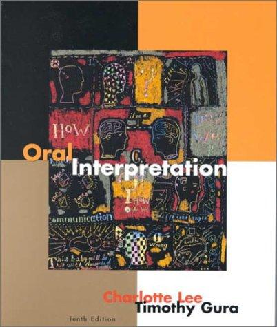 9780395961292: Oral Interpretation Tenth Edition