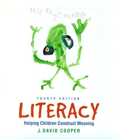 9780395961322: Literacy: Helping Children Construct Meaning, 4th Edition