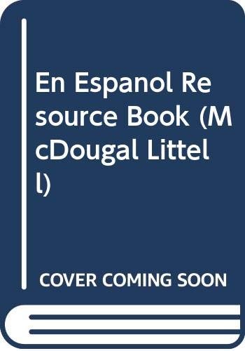 9780395962008: En Espanol Resource Book (McDougal Littell)